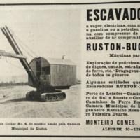 Ruston-Bucyrus Diesel Excavating Shovel Profile
