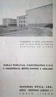 OPCA, Obras Públicas e Cimento Armado S.A. advertisement in Revista de Engenharia Militar 3