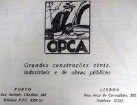 OPCA, Obras Públicas e Cimento Armado S.A. advertisement in Revista Indústria do Norte
