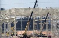 Fábrica da Auto-Europa, Palmela, under construction image 3
