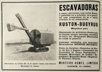 Ruston-Bucyrus Diesel Excavating Shovel Image