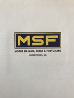 MSF Engenharia, S.A. Logo in Commemoration Book