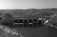 Barragem do Fratel, Nisa, finished construction