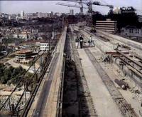 Ponte de São João, Porto, under construction image 1