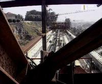 Ponte de São João, Porto, under construction image 2